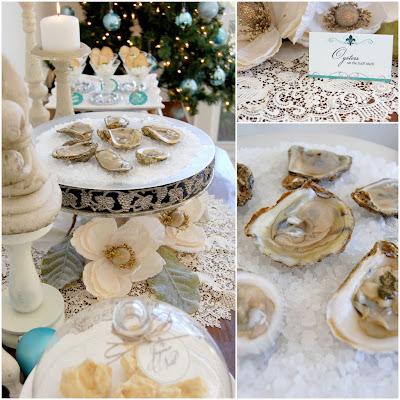 Joyeux Noel - Turquoise & Cream Christmas Celebration