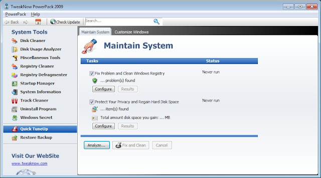 How To Manage Windows Registry Easily:TweakNow PowerPack
