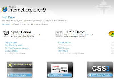 Internet Explorer 9 Is On The Way- Developer Preview Download Available