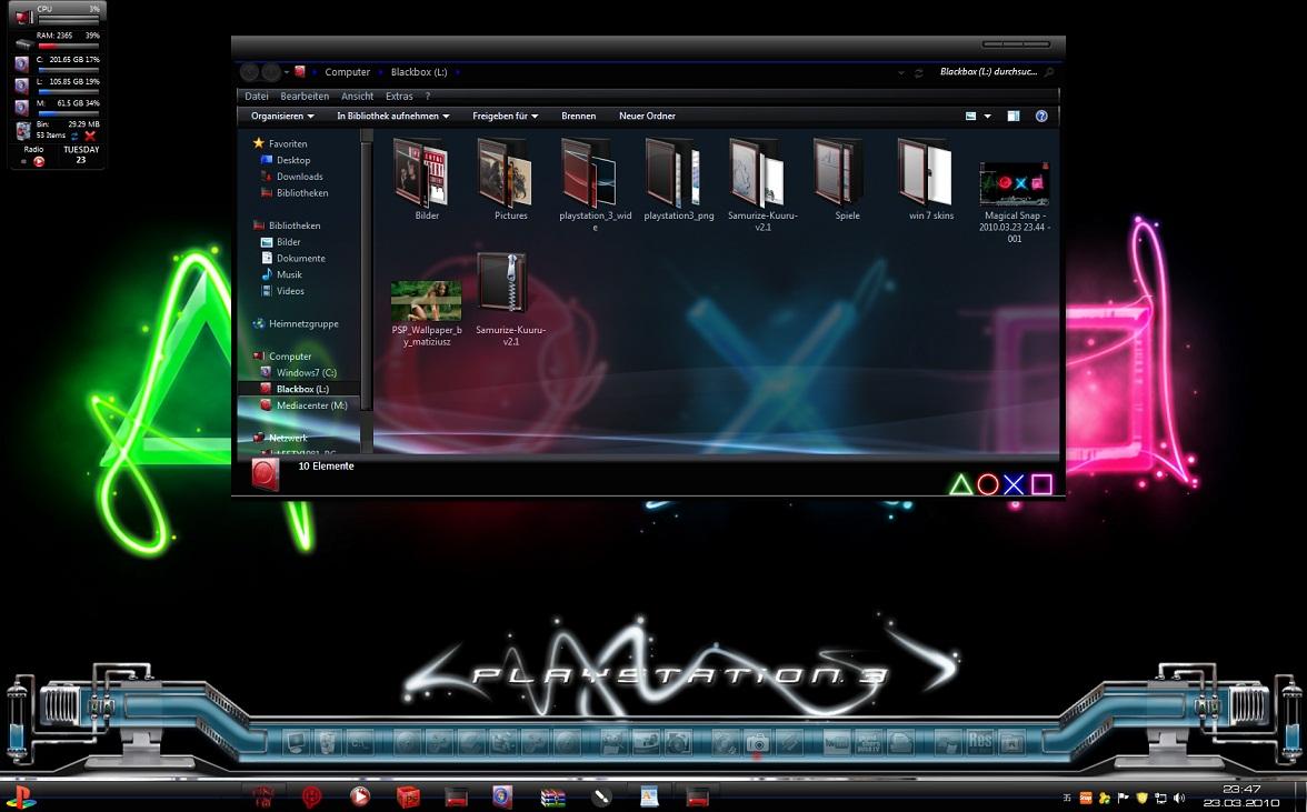 Top Ten Windows 7 Aero...