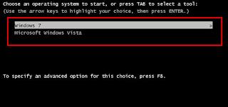 Dual Boot Windows 7 And Windows XP/Vista
