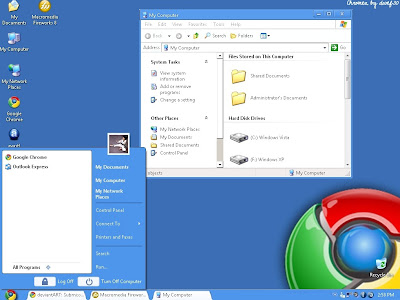 Windows XP Chrome Theme