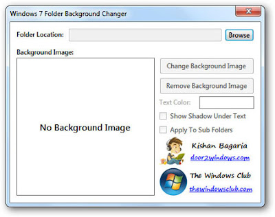 Change Your Folder Background By Any Image In Your Windows Easily