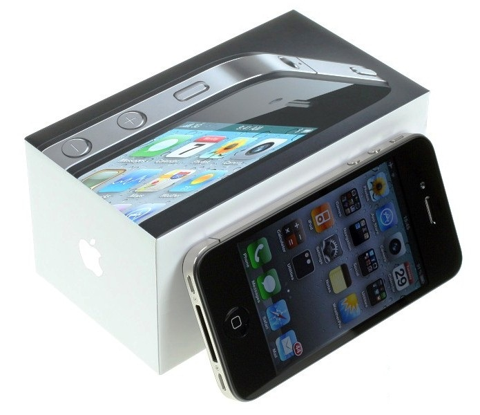 iphone 4 box and accessories. will cover a iPhone 4 box.