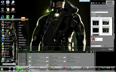 Splinter Cell Gaming Theme for Windows 7