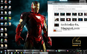 Just click thek themefile inside the theme in order to install iron man 2 . (iron man theme)