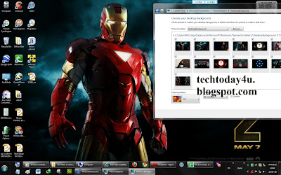 Iron Man 2 Movie Theme for Windows 7