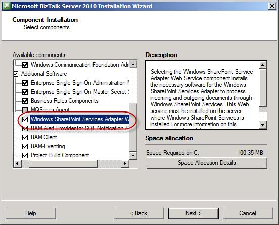 When installation will complete start biztalk server configuration