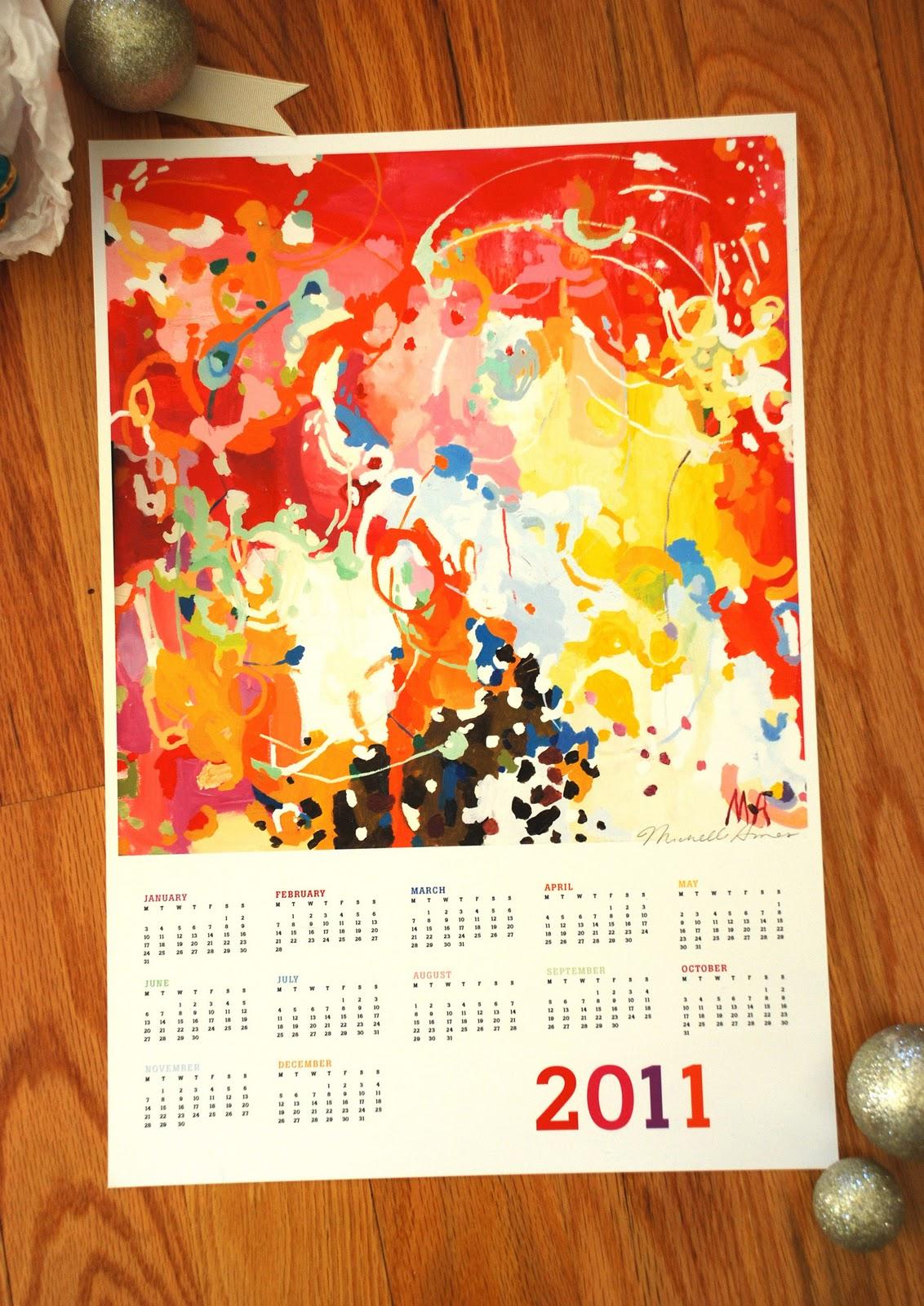 Armas Design: 2011 Calendar, and making stew