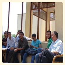 لقاء المدونين وانا مش باين فى الصورة