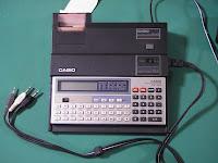 CASIO ポケットコンピュータ PB-100、20桁サーマルプリンタ FP-12T、カセットインターフェイス FA-3