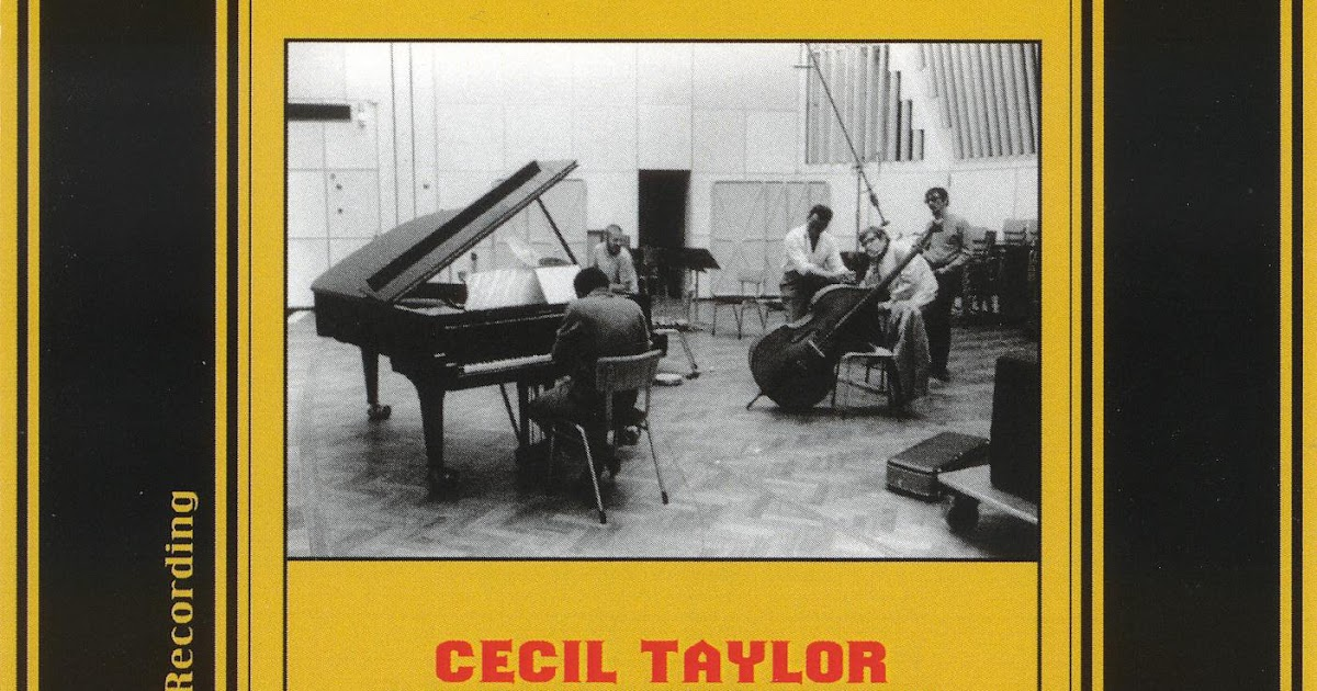 Cecil Taylor Live At The Cafe Montmartre