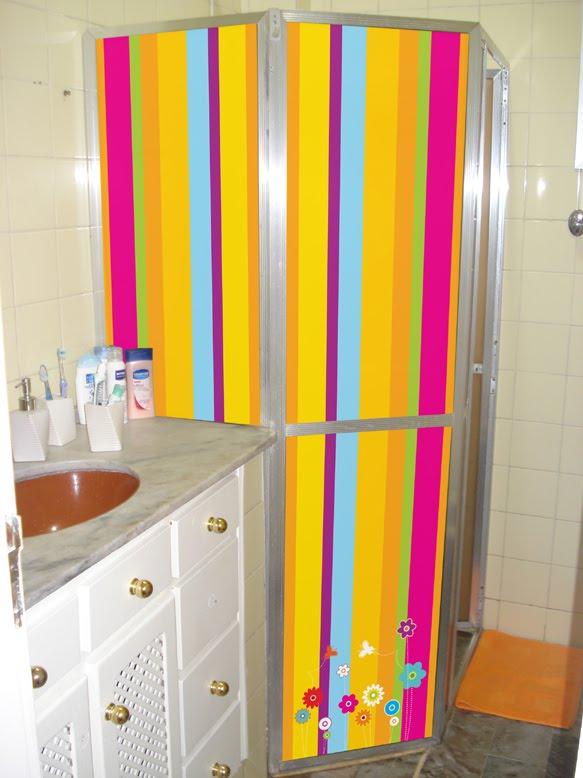 Um sonho de casa  Uma nova cara para um banheiro antigo # Decoracao Para Banheiro Antigo