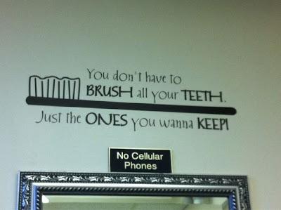 Frase de Dentista