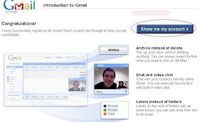 Membuat Account Email Menggunakan Gmail (mail.google)