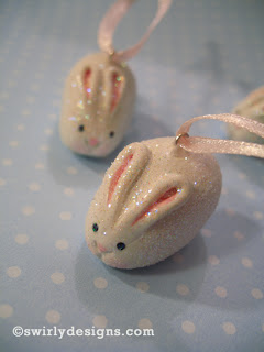 Polymer Clay Rabbits