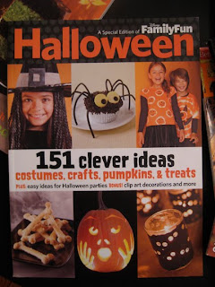this special halloween issue of family fun magazine with its beautiful mate cover it definalty the most kids friend and easy how to of the bunch - Family Fun Magazine Halloween Crafts