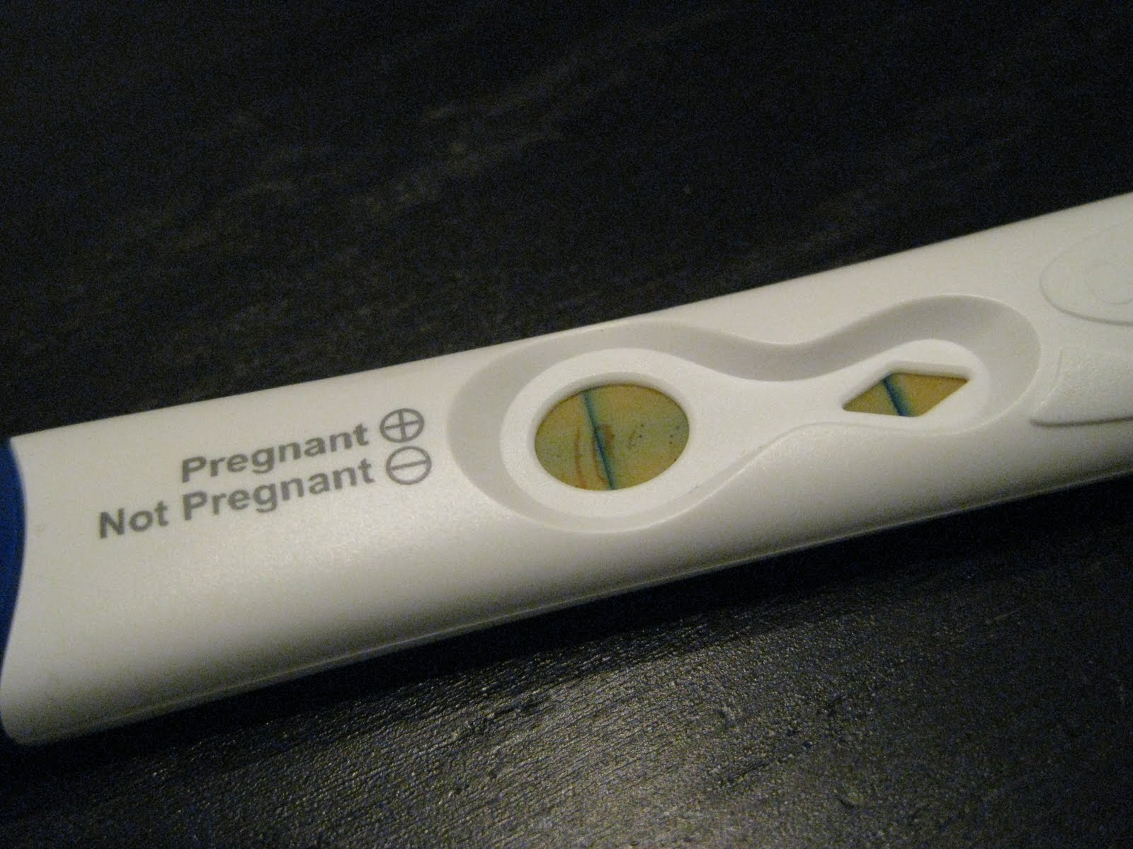 pregnancy test I was so