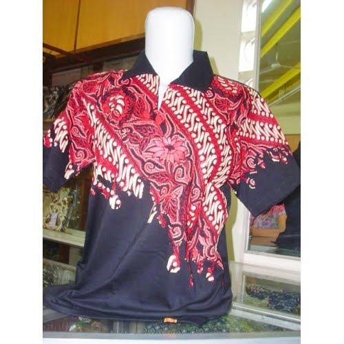 Batik T Shirt Collar