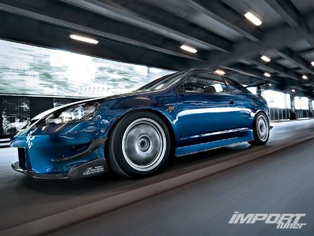 Acura RSX Tuning: ¡Azul furioso! | NENSY CAR BLOG