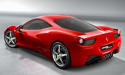 Ferrari 458 Italia, roja, fotos, oficiales