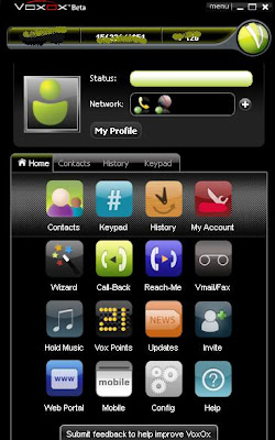Vovox Pc application softphone