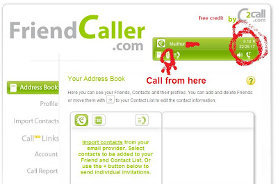 free calls friendcaller