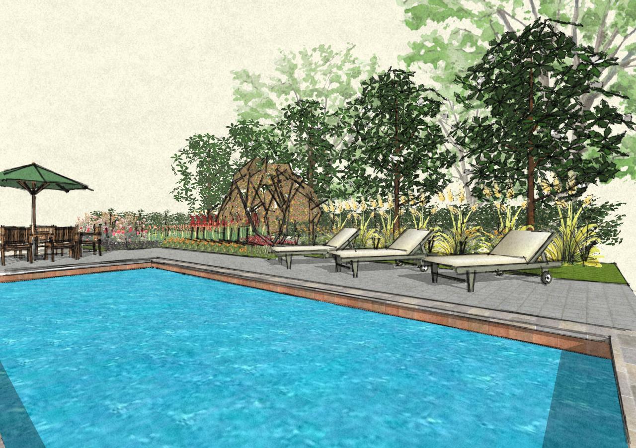John denson rla landscape architecture musings pool for Pool design sketchup