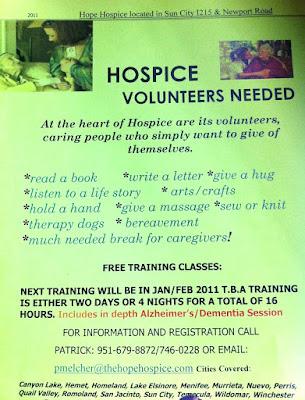 hope hospice sun city