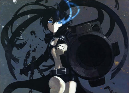 black rock shooter. Black Rock Shooter Game Coming