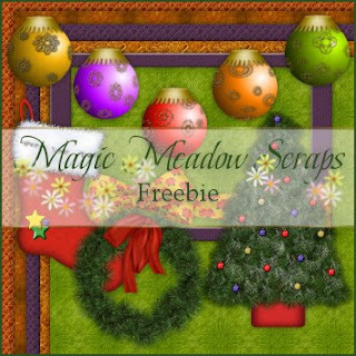 http://magicmeadowscraps.blogspot.com/2009/10/daily-freebie-xmas-collections-6.html