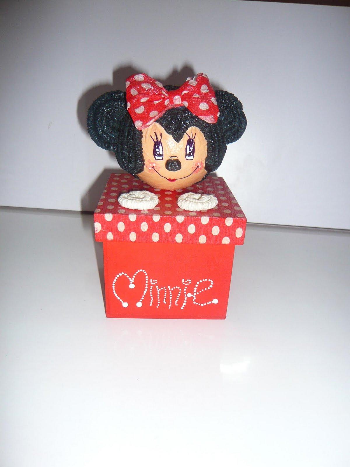 minnie puede ser un hermoso recuerdo para la fiesta de tus ninas