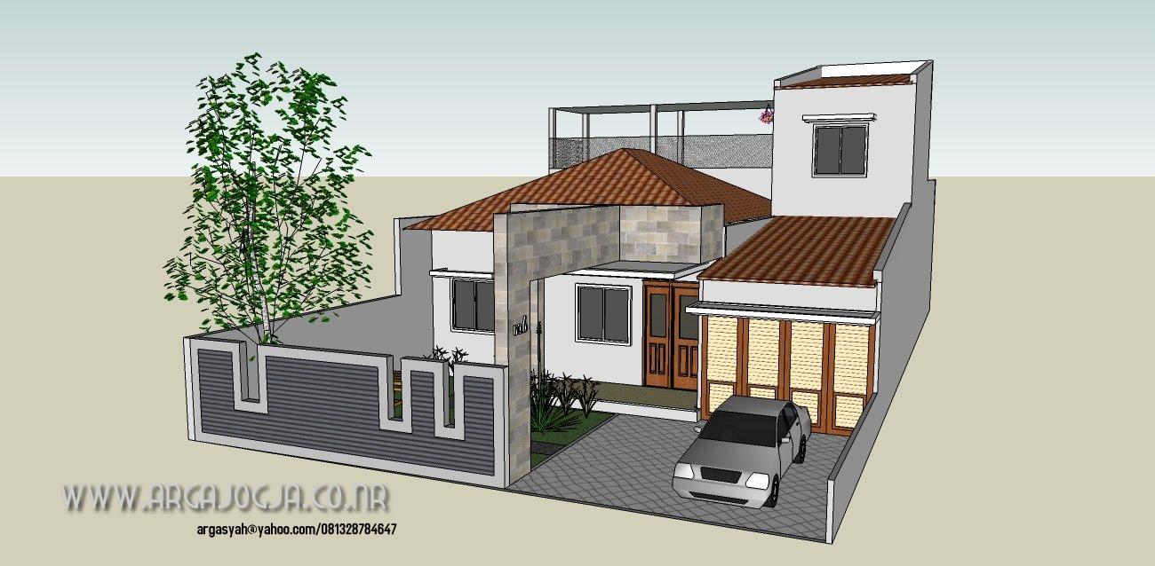 Konsep Desain Fasad Rumah Minimalist Dengan Lebar 10,5 meter