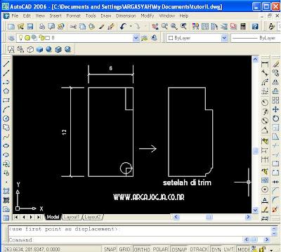Tutorial Membuat Kusen Pintu Detail 3D Dengan Program AutoCAD