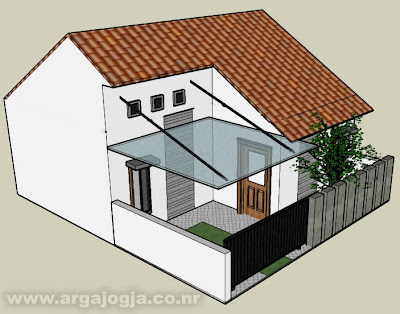 rumah minimalis tipe 36 on ... type 42 , saiki tak posting desain eksterior rumah minimalis type 36
