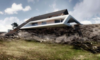 When The Minimalist House Located on The Edge