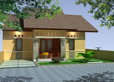 Desain Eksterior Rumah Tropis Modern