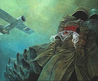 beksiński żołnierze