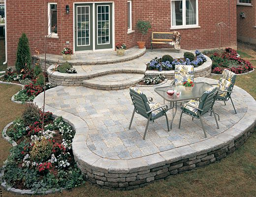 Stone Slate For Backyard slate stone - natural stone: slate patio design- what to consider?