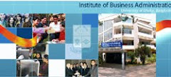 IBA: the premier Business School under Dhaka University.  Bangladesh