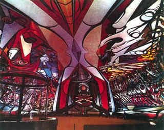Bit cora cicloramas for Definicion de pintura mural