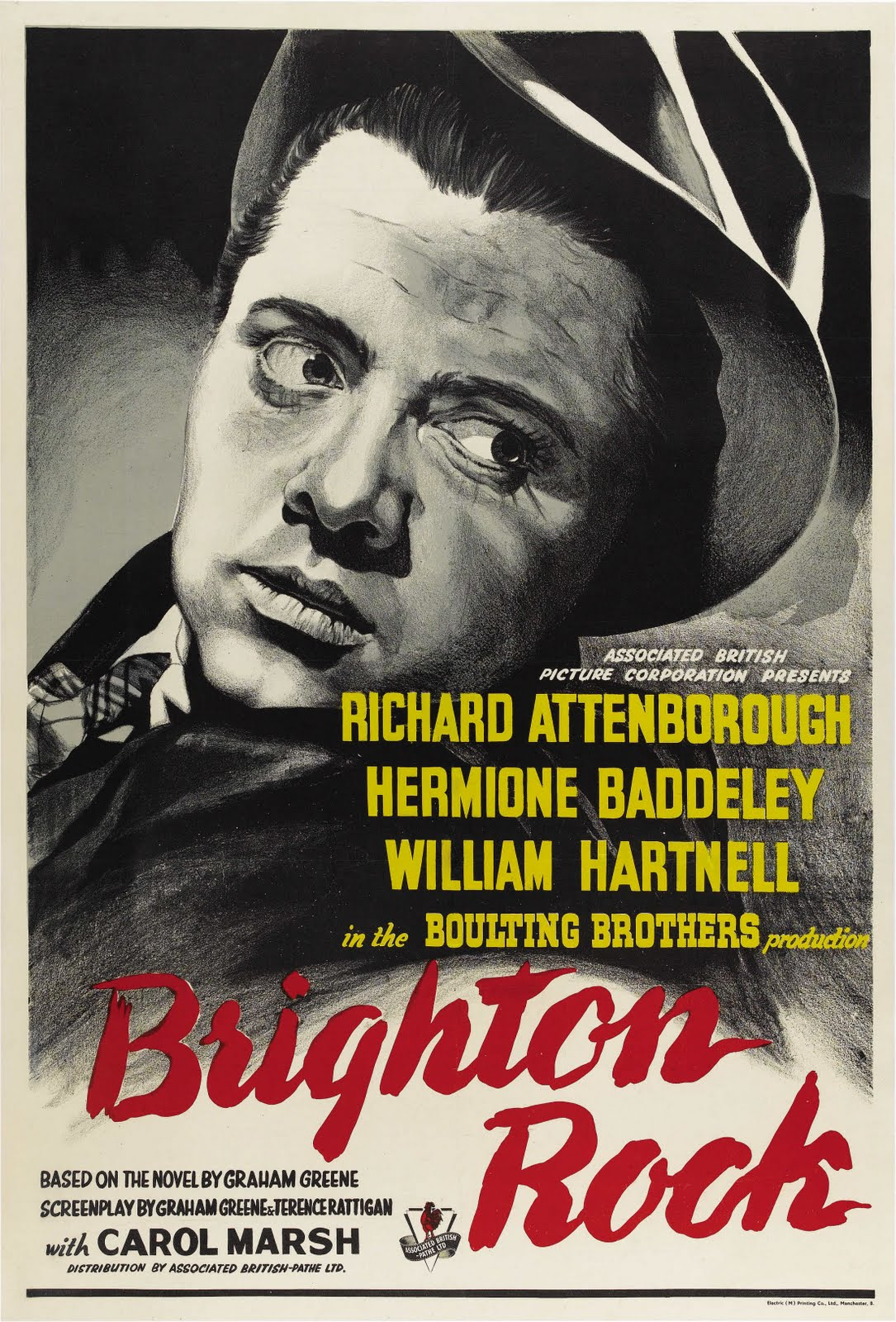 the stereotypical functions of the two characters of brighton rock by graham greene When i first read its synopsis, i didn't want to read this novel because i don't admire those guys as such however, there are a few exceptions like the two great written just prior to brighton rock, a gun for sale is a thriller about raven, a hired killer, where graham greene began developing the character for pinkie.