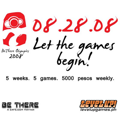 Level Up! BeThere Philippines Olympics 2008