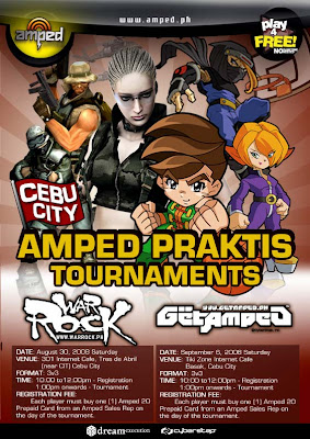 Amped Warrock Online Philippines Praktis Tournaments in Cebu