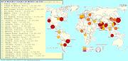 Mapa mundo - Planisfério. Publicada por C. à(s) 16:41 Sem comentários: planisf rio
