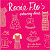 Rosie Flo's colouring books now at BODIE and FOU