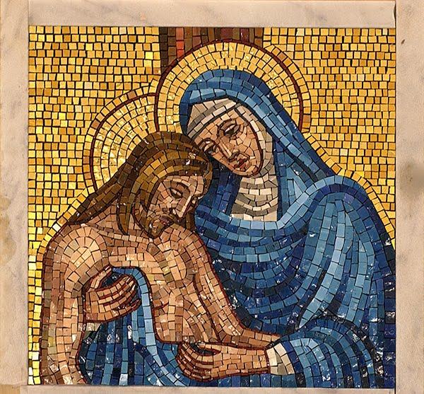 Arteymosaico historia del mosaico for El mural de mosaicos