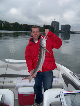Hunts Willamette River Sturgeon