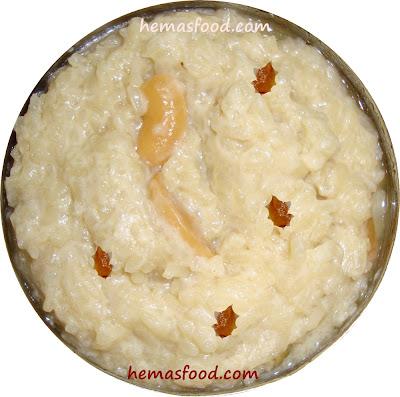 Paravannam - Sweet Rice