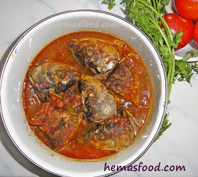 Fish stew - Chepala Pulusu